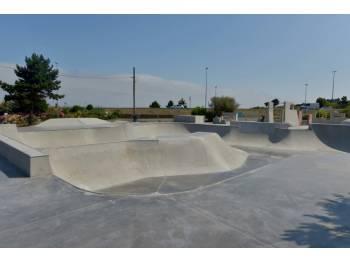 Skatepark de la saline à Cherbourg