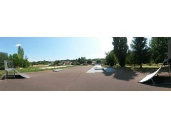 Skatepark de Salviac (photo : Marek V.)