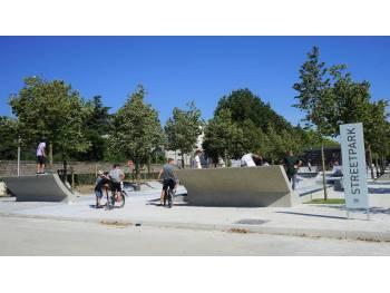 Skatepark de la Rabine à Vannes