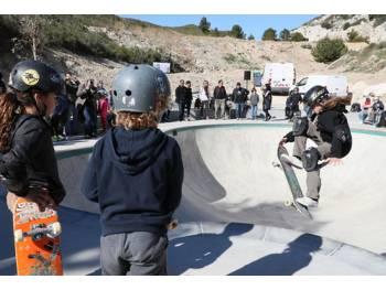 """Skatepark """"Les Dunes"""" de Carry-le-Rouet"""