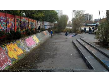Skatepark Mini Longue de Pantin