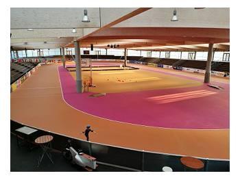 Piste de roller course indoor Arena Geisingen