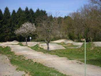 Piste de BMX race de Saint-Martin-le-Beau (photo : mairie)
