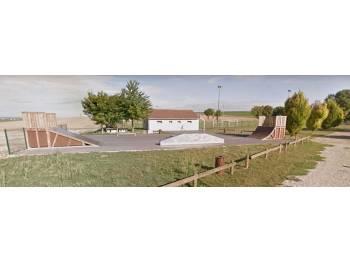 Skatepark de Cernay les Reims