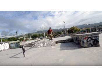 Skatepark d'Arue en Polynésie française