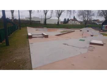 Skatepark de Moulins - L'Olive