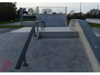 Skatepark d'Etables-sur-Mer (photo : Mairie)