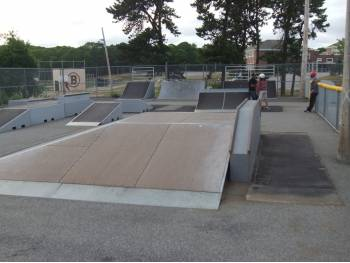 Barnstable Skate Park (photo : Gérard J.)
