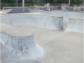 Skatepark de Barnstable (photo : Gérard J.)