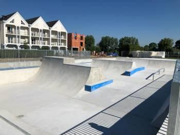 Skatepark de l'ancienne piscine de L'Île-Bouchard