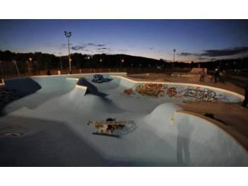 Skatepark du stade Serzian à Belfort