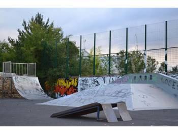Skatepark de Brioude (photo : mairie)