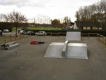 Skatepark d'Yvré-l'Évêque