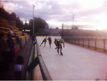 Piste de roller course de Quito (Equateur)