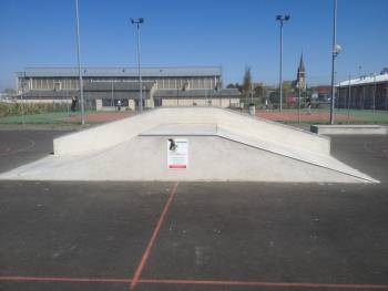 Skatepark de Laigné en Belin