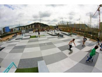 Skatepark de Cherbourg (photo : Constructo)