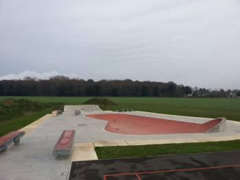 Skatepark de Beaumont-en-Véron