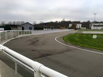 Piste de roller course du vélodrome de la Ferté-Bernard