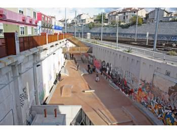 Street park de la Friche à Marseille