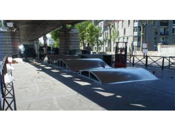 Skatepark du quai de la Gare