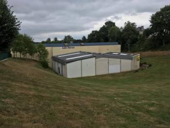 Salle Omnisports Némée à Dinan (photo : Jean Lassueur)