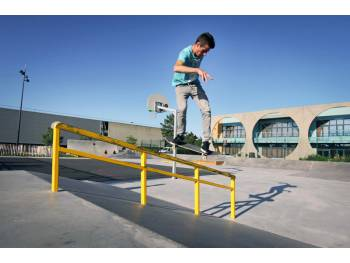 Skatepark Balzac à Saint-Brieuc (photo : Constructo)