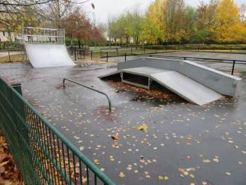 Skatepark de Bailly-Romainvilliers