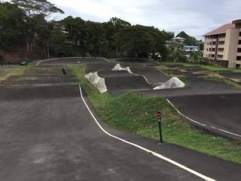 Piste de BMX race Roger Villierme à Arue, Polynésie Française